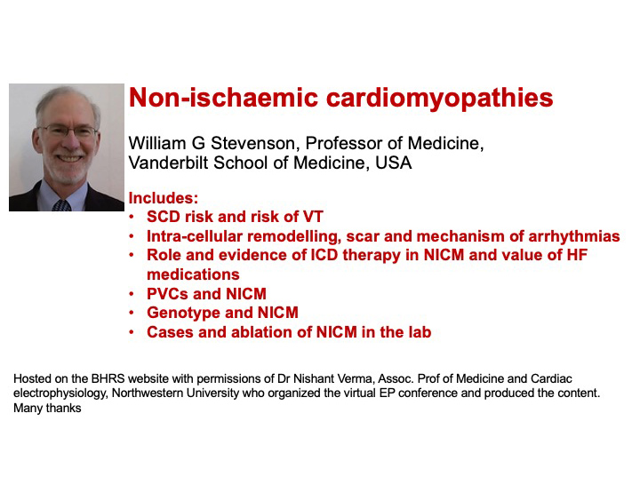 Non-ischaemic cardiomyopathies