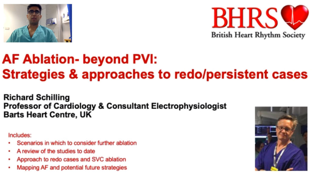 AF Ablation: Beyond PVI (Strategies & Approaches to Redo-Persistent Cases